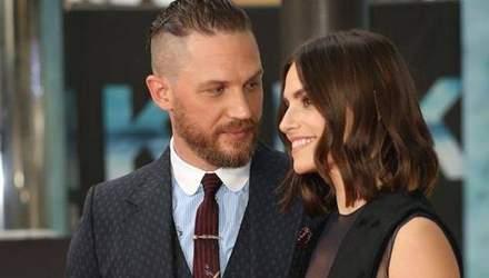 Том Харді і Шарлотта Райлі вдруге стали батьками: сина назвали ім'ям улюбленого героя батька