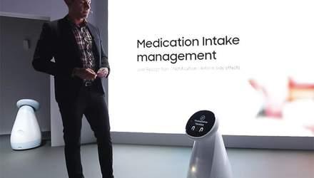 Samsung представила роботов-помощников: для чего они предназначены