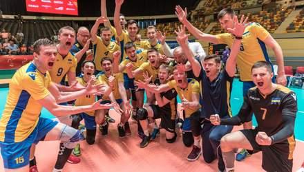 Эффектный сейв украинского волейболиста попал в топ-3 моментов отбора Евро-2019