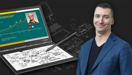 Каким ноутбуком пользуется гендиректор Lenovo в Украине: эксклюзивное интервью