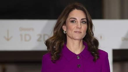 Кейт Міддлтон засвітила яскраве вбрання під час публічного виходу: фото