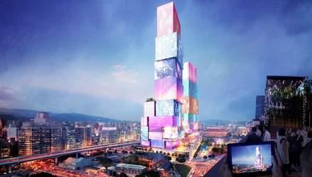 Інтерактивні вежі-близнюки з'являться в Тайвані: як виглядатиме азійський Times Square