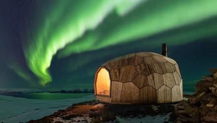 Вулики за полярним колом: казкові будиночки для мандрівників у найпівнічнішому місті Європи