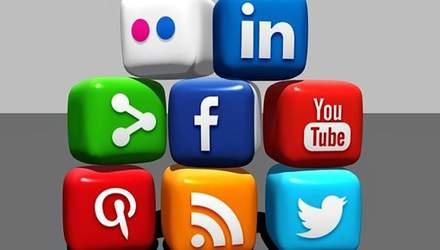 Рейтинг самых популярных социальных сетей в Украине