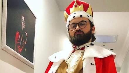 Без яскравих костюмів та бороди: Дзідзьо замилував мережу дитячим фото