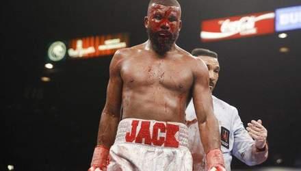 Шведський боксер показав жахливу рану після бою з потенційним суперником Гвоздика: фото (18+)