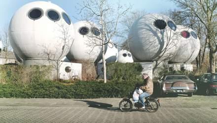 Життя в кулі: скільки коштує оренда круглих будинків в Нідерландах