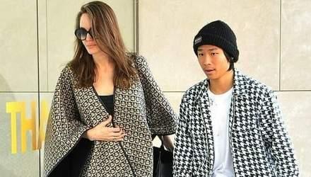 Вспомнила навыки Лары Крофт: Анджелина Джоли посетила скалодром со своими детьми