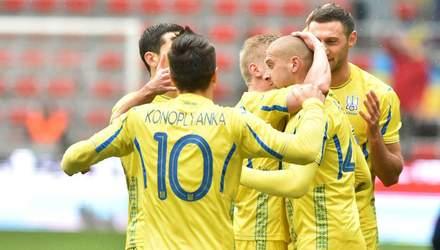 Збірна України розпочала 2019 рік на найвищій позиції за останні 4 роки у рейтингу ФІФА
