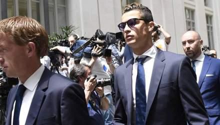 Суд над Роналду: футболіст отримав 23 місяці умовного терміну та величезний штраф