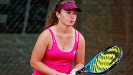 Юна українська тенісистка вийшла в 1/8 Australian Open