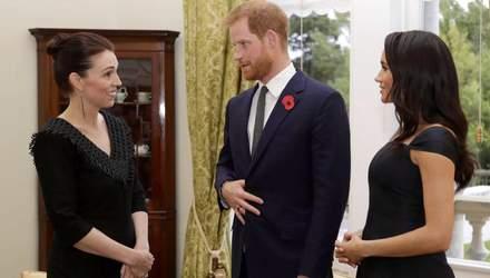 Меган Маркл провела таємну зустріч з прем'єр-міністром Нової Зеландії: несподівані деталі