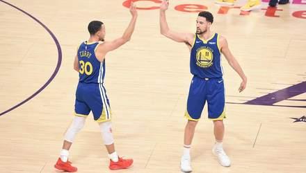 """Гравець """"Голден Стейт"""" повторив рекорд НБА у матчі проти """"Лейкерс"""" українця Михайлюка: відео"""