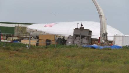 Сильний вітер пошкодив прототип ракети Ілона Маска
