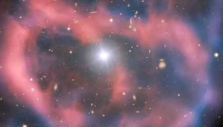 """Телескоп  зафіксував """"останній подих"""" зірки, що помирає"""