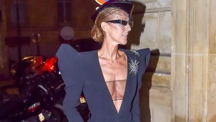 50-летняя Селин Дион засветила обнаженную грудь в соблазнительных нарядах: фото