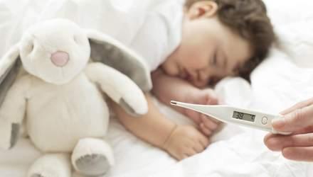 Чи можна охолоджувати дитину, у якої висока температура