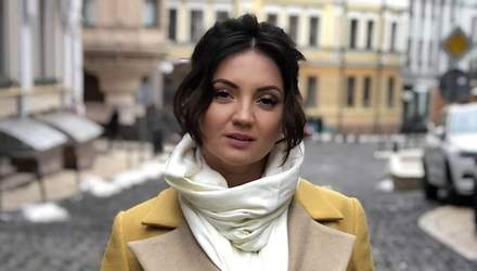Співачка Оля Цибульська провідала свого директора після жорстокого побиття: фотофакт