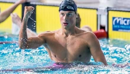 Украинские пловцы завоевали 8 медалей на престижных соревнованиях в Люксембурге