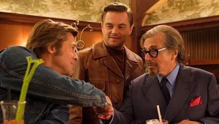 """Бред Пітт, Ді Капріо і Марго Роббі в новому фільмі """"Одного разу в Голлівуді"""": яскраві фото"""