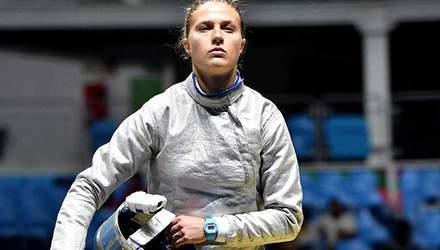 Українська олімпійська чемпіонка невдало впала на телевізор під час змагання: відео курйозу