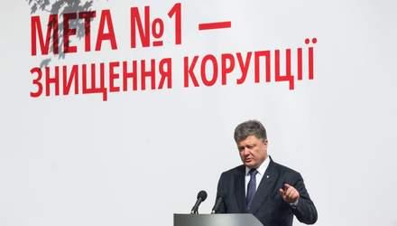 Боротьба з корупцією в Україні: що не так у риториці Порошенка