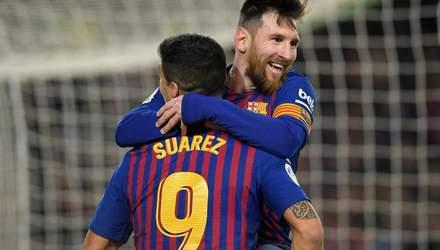 """""""Барселона"""" розгромила """"Севілью"""" та вийшла у півфінал Кубка Іспанії: відео"""