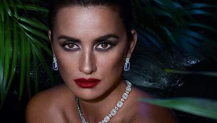 В джунглях: Пенелопа Крус знялась у розкішному фотосеті для Swarovski