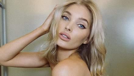 Прикрила груди руками: Ельза Госк опублікувала пікантне фото топлес (18+)