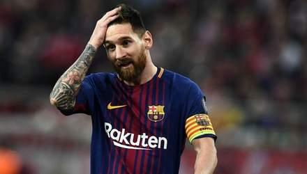 """Дубль Мессі врятував """"Барселону"""" від домашньої поразки """"Валенсії"""": відео"""