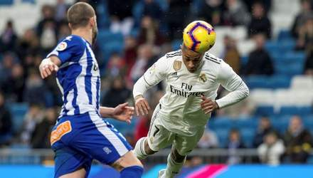 """""""Реал"""" здобув четверту поспіль перемогу у чемпіонаті Іспанії: відео голів у грі з """"Алавесом"""""""