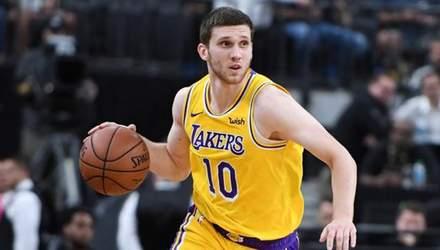 """""""Лейкерс"""" може обміняти українця Михайлюка в інший клуб НБА"""