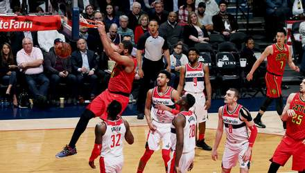 """Українець Олексій Лень допоміг """"Атланті"""" обіграти """"Вашингтон"""" в НБА: відео"""