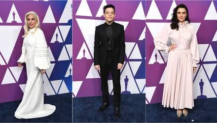 Леди Гага, Рами Малек, Рэйчел Вайс и другие звезды на ланче номинантов на Оскар-2019: яркие фото