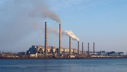 Придніпровська ТЕС Ахметова загрожує Дніпру екологічною катастрофою