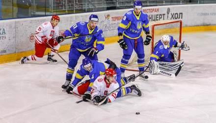 Збірна України з хокею поступилася Польщі під керівництвом нового тренера