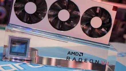 Відеокарти AMD Radeon VII офіційно надійшли у продаж: ціна