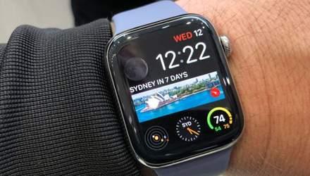 Apple Watch 4 врятував життя пенсіонерові