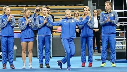 Збірна України поступилася Польщі у заключному матчі Кубка Федерації