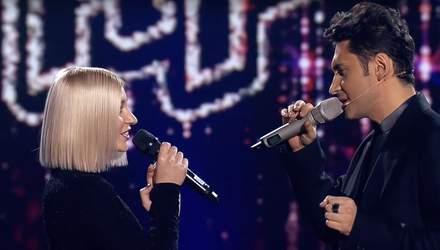 Голос країни 9: приголомшливий дует Дана Балана та Катерини Бєгу зірвав мережу