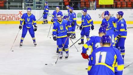 Збірна України з хокею зазнала історичної поразки