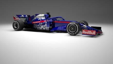 Toro Rosso представило новый болид для Формулы-1: фото и видео