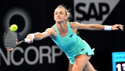 Цуренко розгромила суперницю на турнірі в Катарі та вийшла на третю ракетку світу