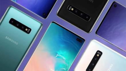 Фінальні характеристики флагмана Samsung Galaxy S10 потрапили до рук журналістів