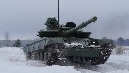 Українці модернізували потужний бойовий танк Т-64: яскравий відеоогляд