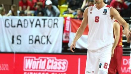 Ефектний пас українського баскетболіста Гладиря увійшов у топ-10 моментів Єврокубка: відео