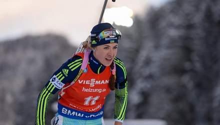 Юлия Джима финишировала 10-й в спринте, победу одержала Марте Олсби