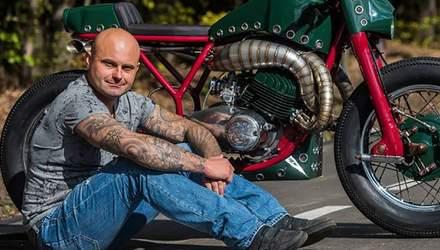 Украинец, который установил рекорд скорости на мотоцикле СССР