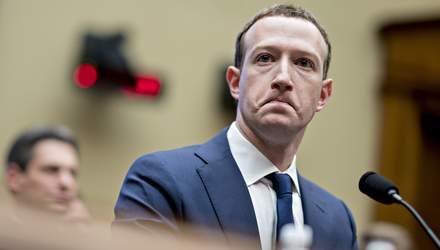 """Facebook вносит пользователей в """"черный список"""" за угрозы Марку Цукербергу"""