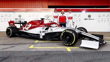 Alfa Romeo представила ливрею, с которой команда выступит в Формуле-1: фото и видео
